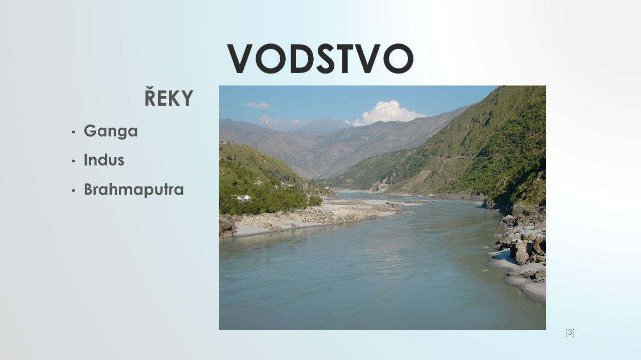 Vodstvo ŘEKY Ganga Indus Brahmaputra [3]